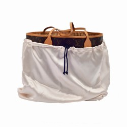 Satin Dust Cover in Champagne for Handbag and Totebags (More Colors)