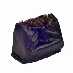Satin Dust Cover in Black for Handbag and Totebags (More Colors)