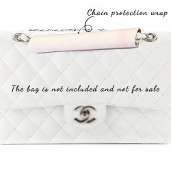Chain Protection Wrap in Suedette For Flap Handbags ( More colors available)