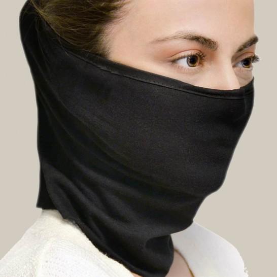 Breathable – Respiratory Protection Cotton Neck Warmer, Washable Respiratory Protector Elastic Scarf