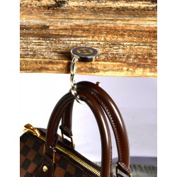 Handmade LV Bag Hanger / Hook with Upcycled Authentic Canvas
