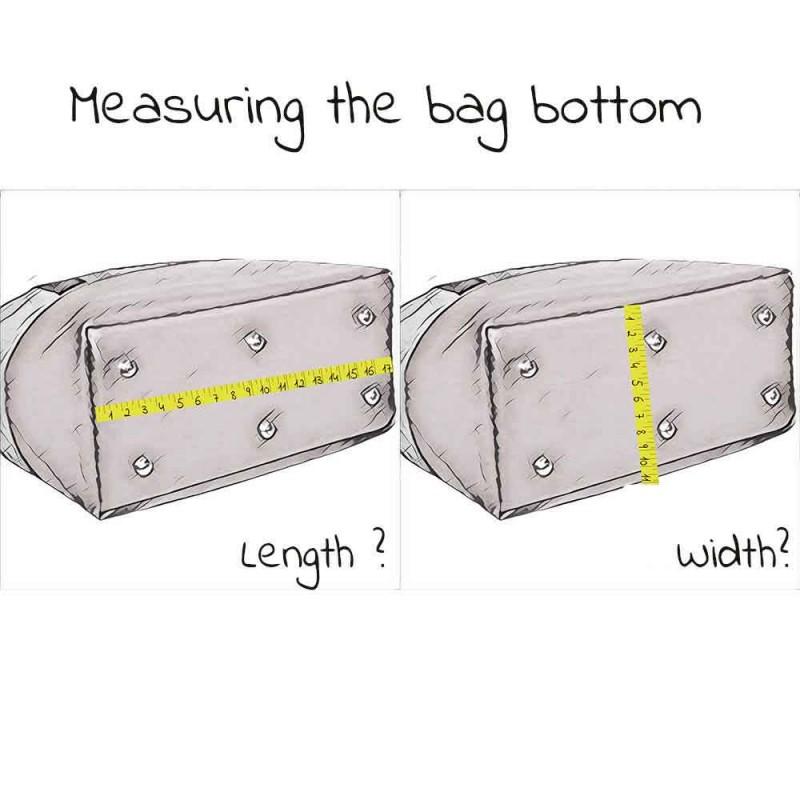 Custom Size Acrylic Bag Base Shaper Handbag Bottom Shaper