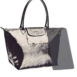 Longchamp Le Pliage Acrylic Bag Base Shaper, Bag Bottom Shaper