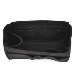 Felt Handbag Organizer with One Round Holder - Size: 23 / 11.5 / 12.5 cm