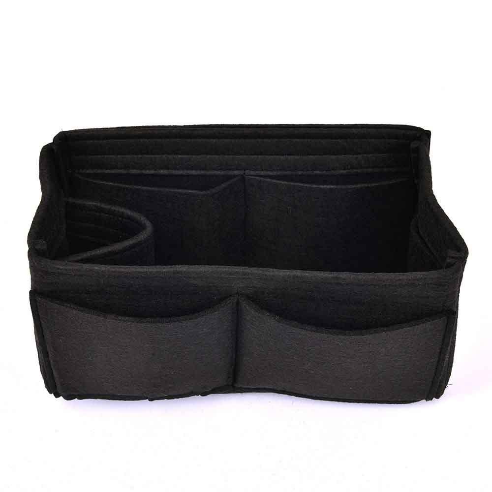 Felt Handbag Organizer with One Round Holder - Size: 27 / 15 / 11 cm