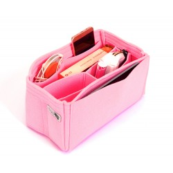 Felt Handbag Organizer with Chambers Style - Size: 29 / 19 / 15 cm