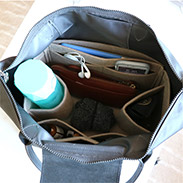 Regular felt bag organizer for longchamp