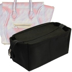 Bag and Purse Organizer with Zipper Top Style for Celine Phantom Medium Luggage (More colors available)