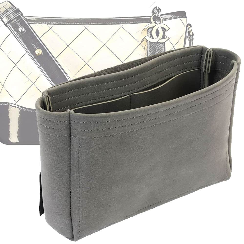 Gabrielle Hobo Basic Style Nubuck Leather Handbag Organizer (More colors available)