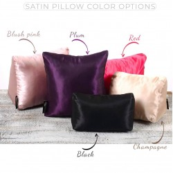 Satin Pillow Luxury Bag Shaper For Classic / 2.55 Flap Closure Shoulder Bag ( Medium, Jumbo, Maxi ) (Champagne) - More colors available