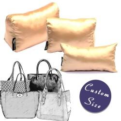 Custom Size Satin Pillow Luxury Bag Shaper For Designer Bags