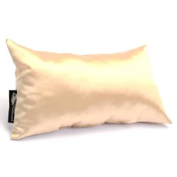 Satin Pillow Luxury Bag Shaper in Medium-Size For Designer Bags (Champagne) - More colors available