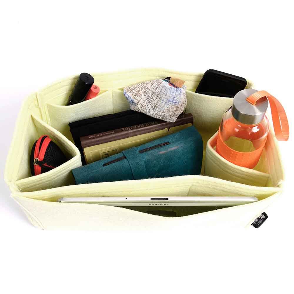 f4dc69bb1adf7 Bag and Purse Organizer with Regular Style for Cuyana Classic Leather  Zipper Tote