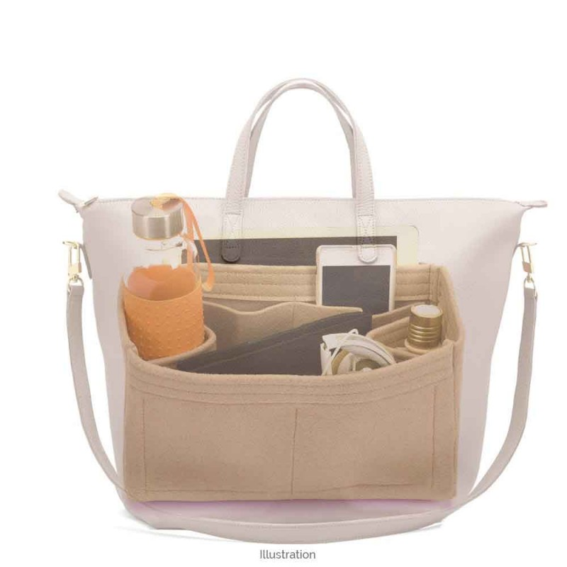 84f0ca5e2 ... Bag and Purse Organizer with Regular Style for Cuyana Oversized  Carryall Tote ...