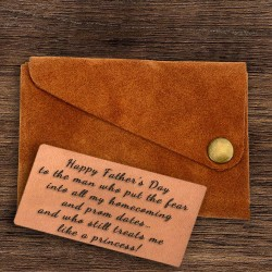 Wing Fold Genuine Suede Leather Wallet in Tan