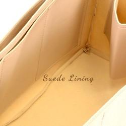 Givenchy Medium Antigona Vegan Leather Handbag Organizer in Dark Beige Color