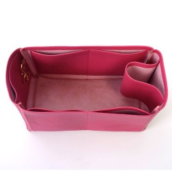 Givenchy Medium Antigona Vegan Leather Handbag Organizer in Fuchsia Color