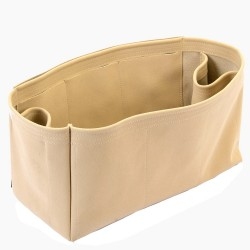 St Louis GM and Anjou GM Suedette Regular Style Leather Handbag Organizer (Beige) (More Colors Available)