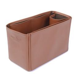 Gucci Supreme Tote Vegan Leather Handbag Organizer in Brown Color
