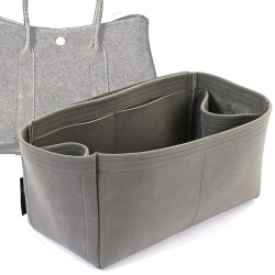 Garden Party 30 / 36 Regular Style Nubuck Leather Handbag Organizer (More colors available)