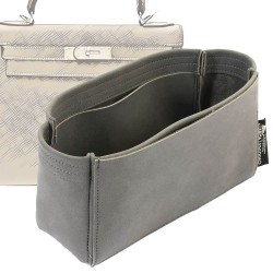 Kelly 28 Basic Style Nubuck Leather Handbag Organizer (More colors available)