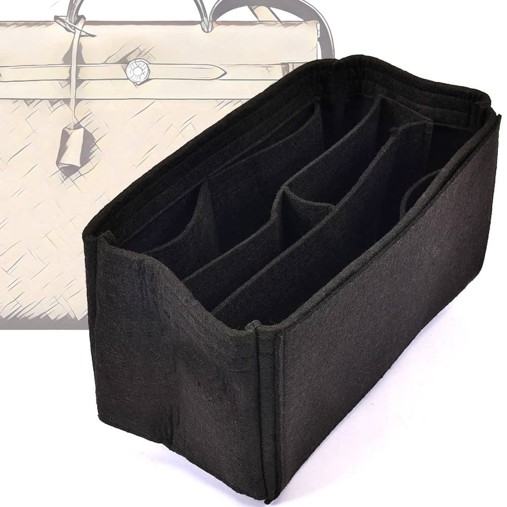 13917f43d3 Bag and Purse Organizer with Chambers Style for Hermes Herbag 39