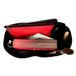 Handbag Organizer with Interior Zipped Pocket for Birkin 30, 35 and 40 ( More Colors Available )