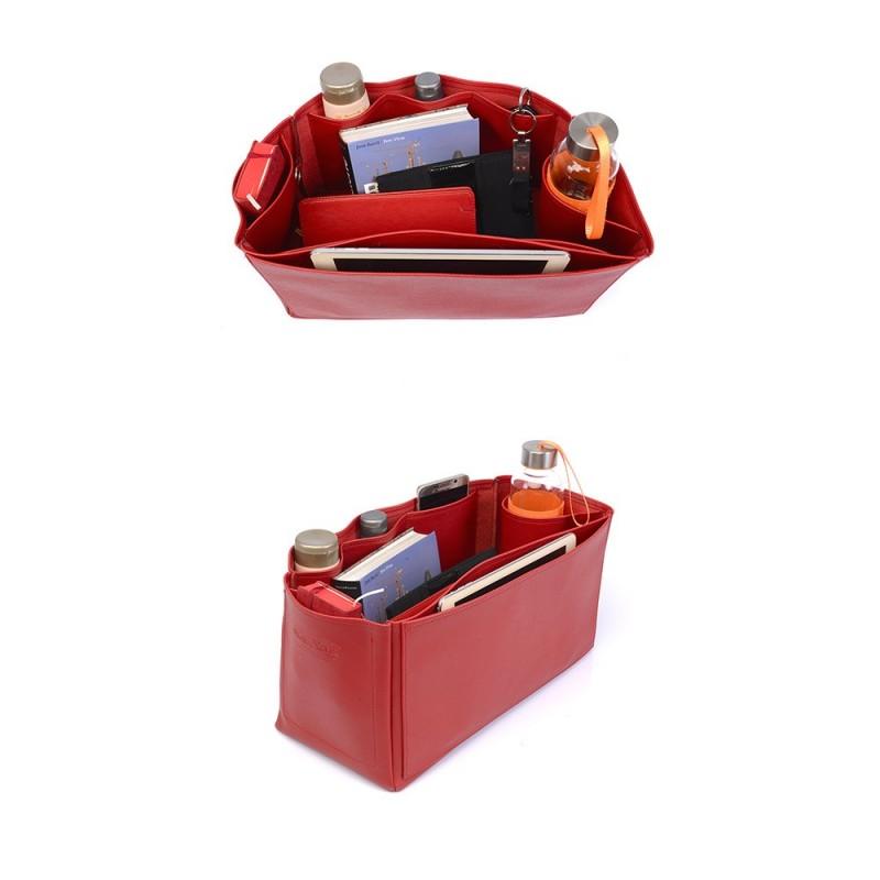 Birkin 40 Deluxe Leather Handbag Organizer In Cherry Red Color Birkin 40 Deluxe Leather Handbag Organizer in Cherry Red Color Red Things red color 40