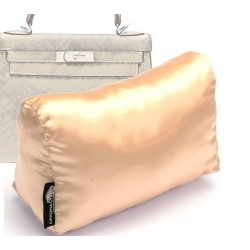 Satin Pillow Luxury Bag Shaper For Hermes' Kelly 28/32/35 (Champagne color) (More colors available)