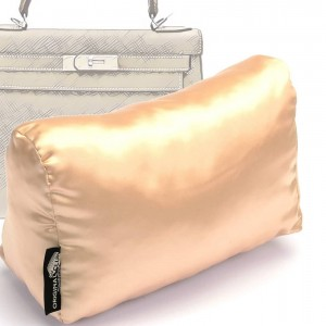Satin Pillow Luxury Bag Shaper For Hermes' Kelly 28/32/35 (Champagne color) More colors available