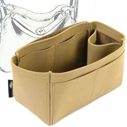 Lindy 26/30/34 Singular Style Nubuck Leather Handbag Organizer (More colors available)