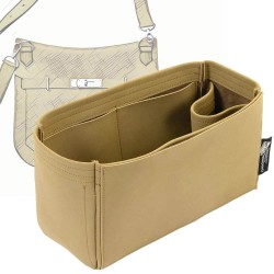 Jypsiere 28 Singular Style Nubuck Leather Handbag Organizer (More colors available)