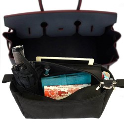 Bag and Purse Organizer with Zipper Top Style for Hermes Birkin 30, 35 and 40 (More colors available)