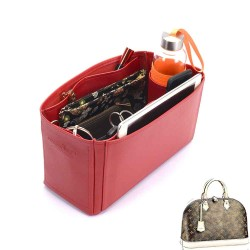 Alma MM Deluxe Leather Handbag Organizer