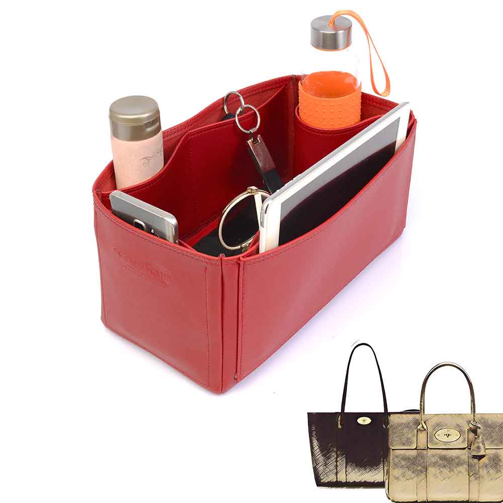 15a28fceaf Bayswater and Bayswater Tote Deluxe Leather Bag Organizer in Cherry ...