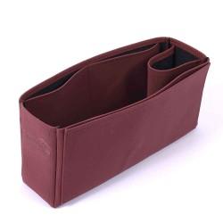 Berri MM Vegan Leather Handbag Organizer in Maroon Color