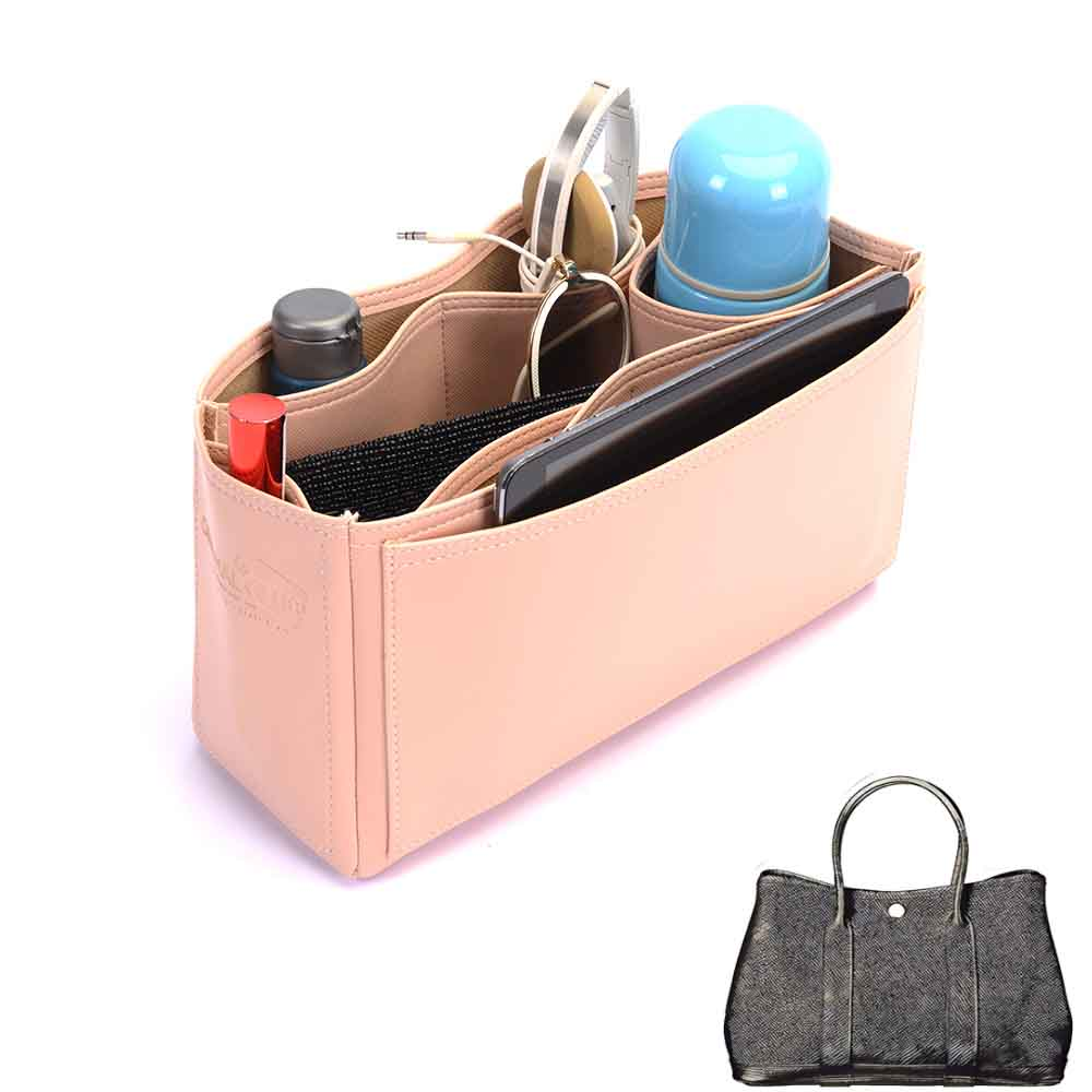 336426a70b25 Garden Party 30 Deluxe Leather Handbag Organizer in Blush Pink Color