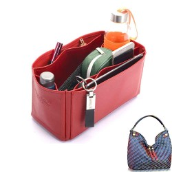 Duomo Hobo Deluxe Leather Handbag Organizer