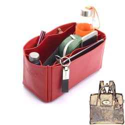Large Cara Deluxe Leather Bag Organizer