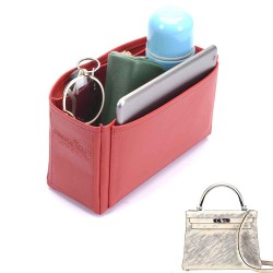 Kelly 28 Deluxe Leather Handbag Organizer
