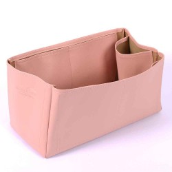 Neverfull GM Deluxe Leather Handbag Organizer in Blush Pink Color