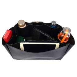 Neverfull GM Leather Handbag Organizer in Black Color