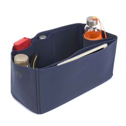 Speedy 40 Deluxe Leather Handbag Organizer in Navy Color