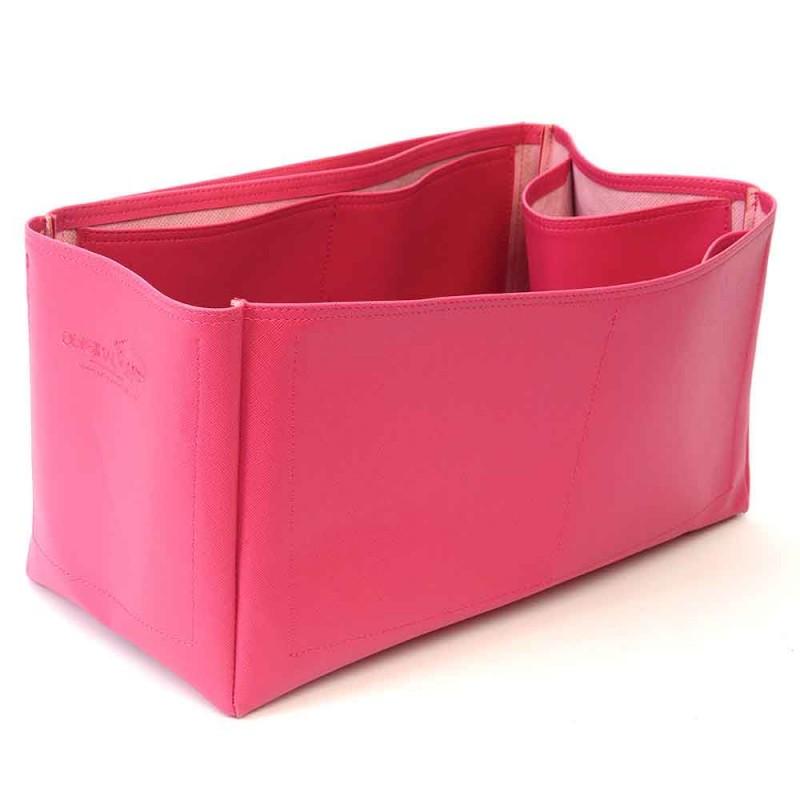 dbeb893571 Speedy 40 Deluxe Leather Handbag Organizer in Fuchsia Color