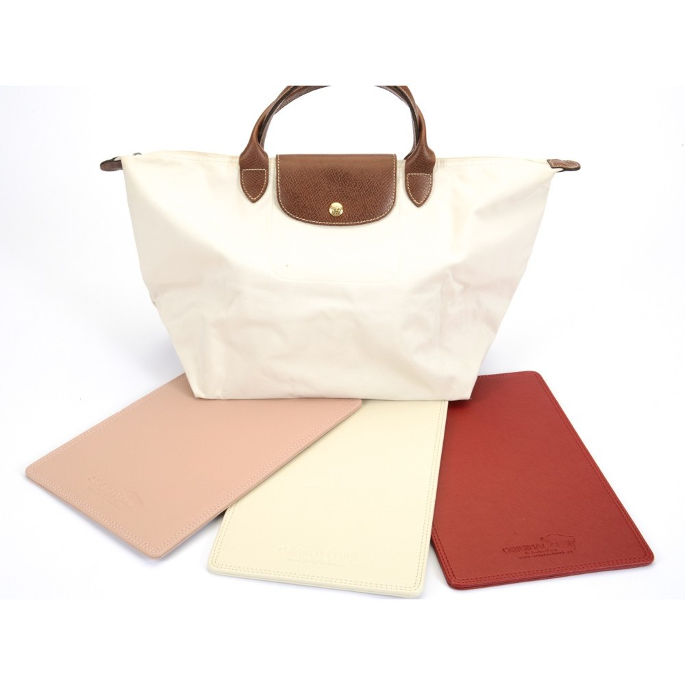 Le Pliage Large Leather Bag Base Shaper, Bag Bottom Shaper