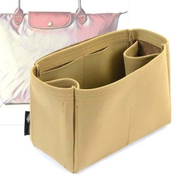 Le Pliage Large Tote Regular Style Nubuck Leather Handbag Organizer (More colors available)
