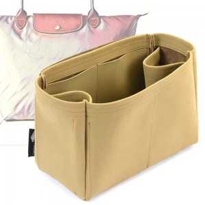 Le Pliage Small/Medium/Large Regular Style Nubuck Leather Handbag Organizer (More colors available)