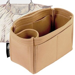 Le Pliage Small / Cuir Small Singular Style Nubuck Leather Handbag Organizer (More colors available)