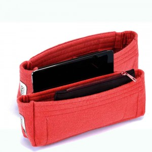 Set of 2 Purse Organizers with the Basic Slim Style for Louis Vuitton NeoNoe