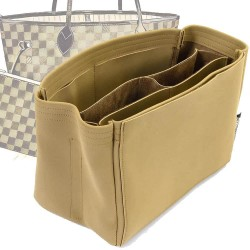 Neverfull MM / GM Compartment Style Nubuck Leather Handbag Organizer (More colors available)